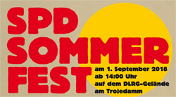 Grafik: SPD Sommerfest, 1. September 2018